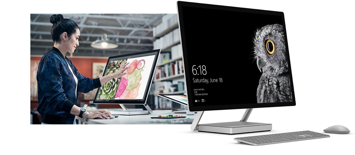 Introducing Microsoft's New Surface Studio PC
